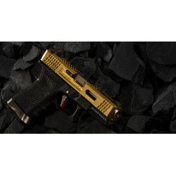 WE G-Force 19 Metal Version GBB Gold